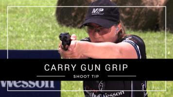 Julie Golob's Shooting USA Pro Tip on Proper Carry Gun Grip
