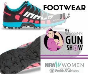 Footwear Tip with Julie Golob on the Women's Gun Show