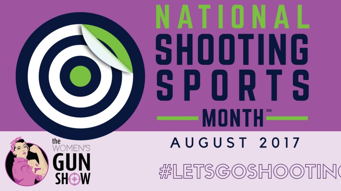 It's Shooting Sports Month - Women's Gun Show Tip Time with Julie Golob