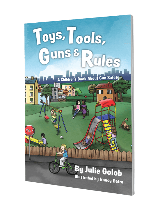 Toys, Tools, Guns & Rules: A Children's Book About Gun Safety #kidsgunsafetybook