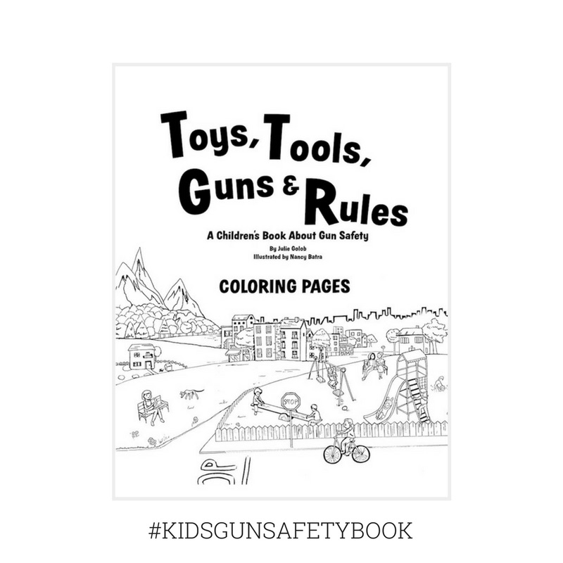 Toys Tools Guns Rules Coloring Pages Julie Golob