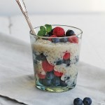 Tapioca Berry Parfait In The Pressure Cooker!