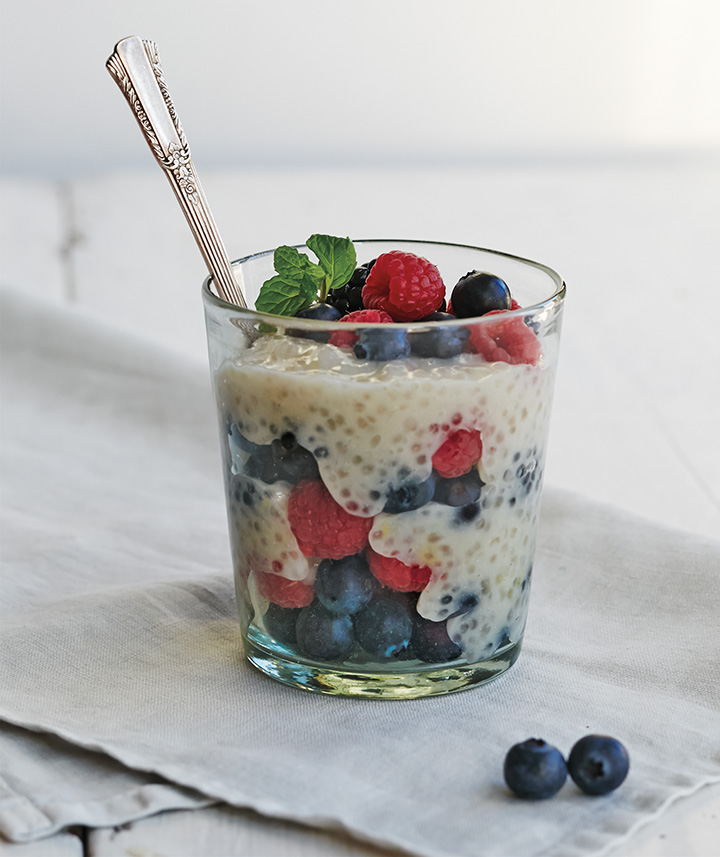 Vegan Tapioca Berry Parfait