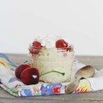 Cherry Almond Rice Pudding (gluten-free + vegan)
