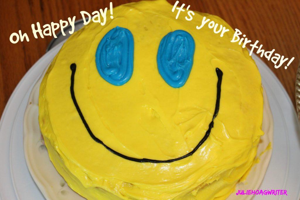 BIrthday cake spending birthday money on Groupon