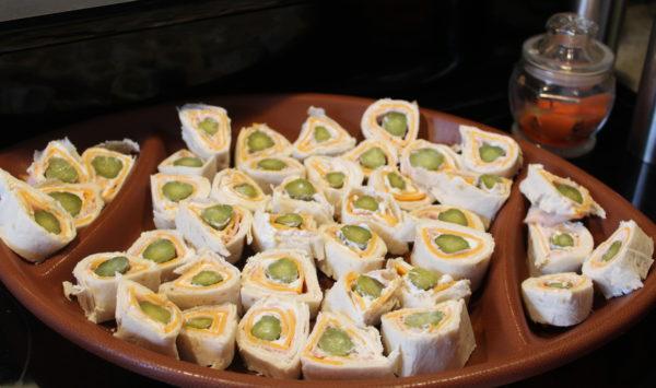 Last-minute Pickle Wrap Appetizer