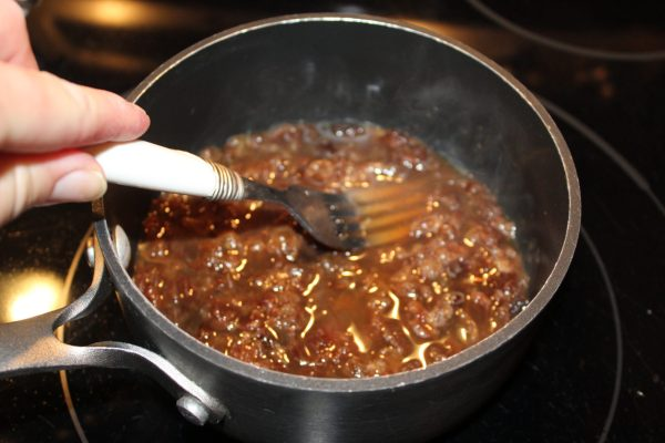 Raisin sauce for Reindeer Loaf