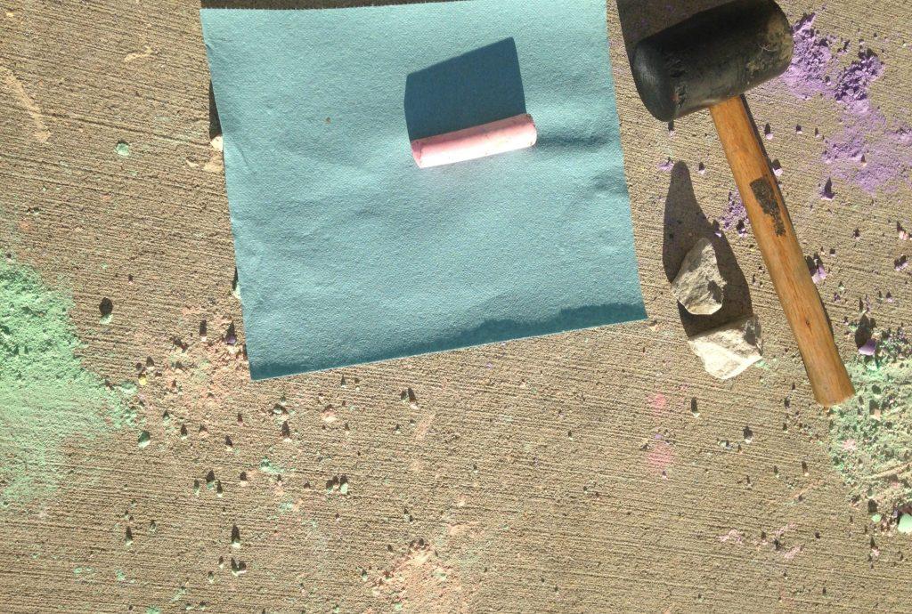 Supplies for DIY Mason Jar Chalk Craft