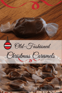 Old-Fashioned Christmas Caramels