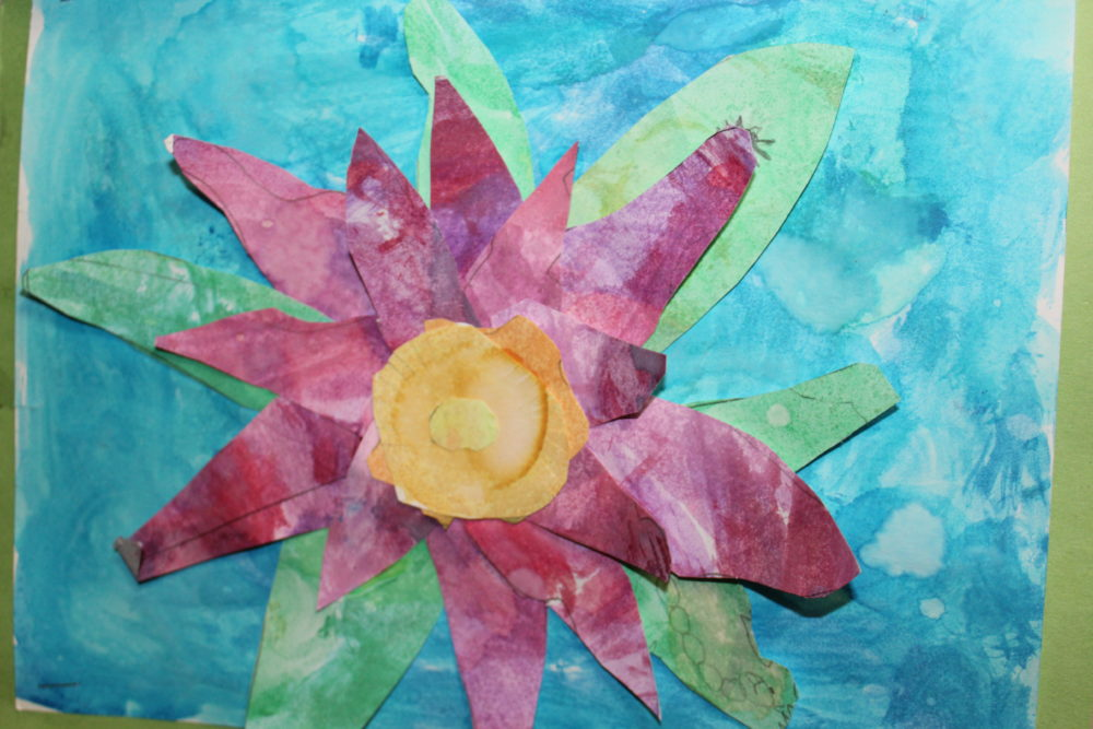 Kids Make Your Own Fairy Tale activity. Free activity for creativity ideas in kids. Learning activity for kids. Artwork by a child