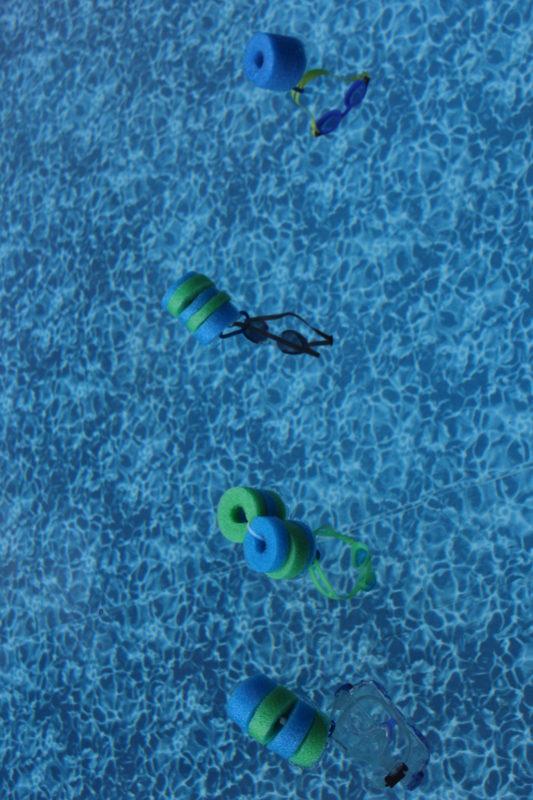 DIY Pool Noodle Goggle Floats