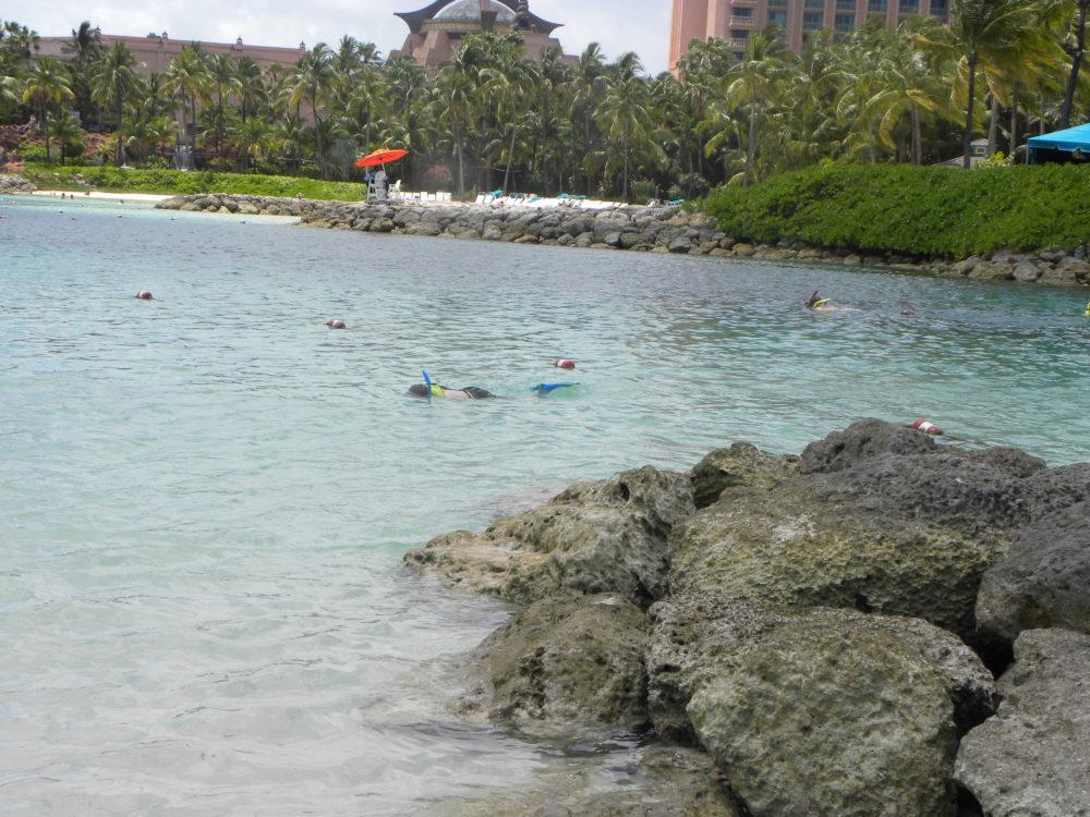 Snorkeling pool