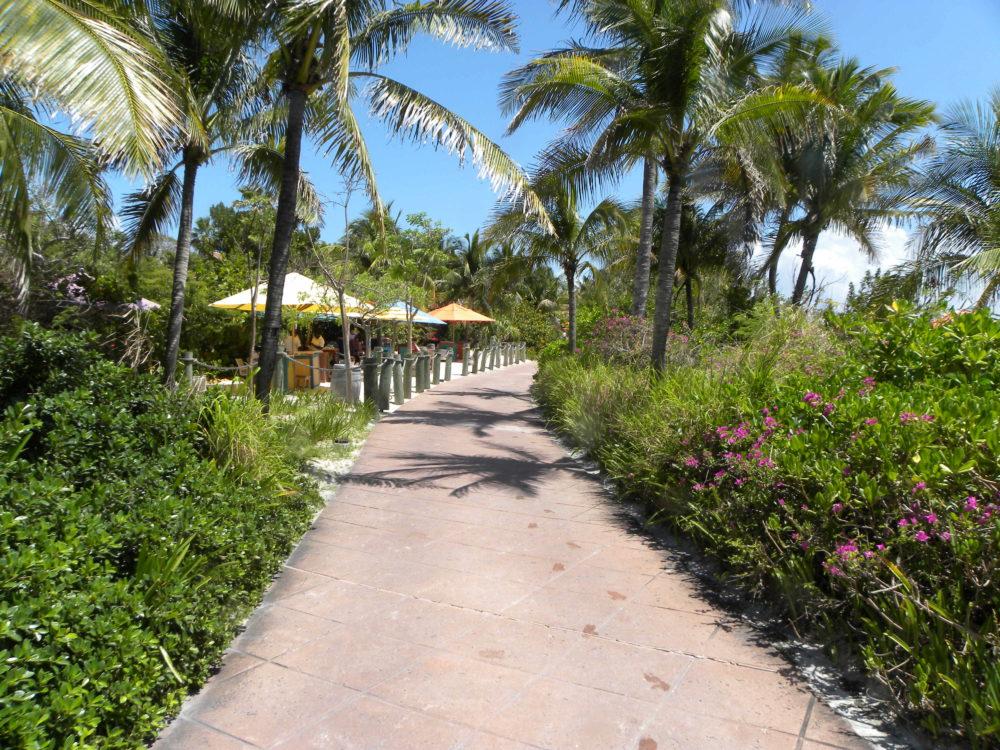 Beautiful walkway on Castaway Cay