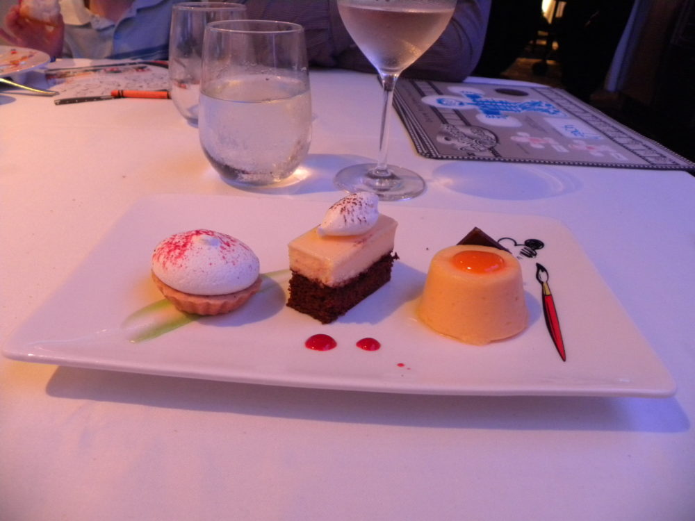 Desserts at Animators Palate