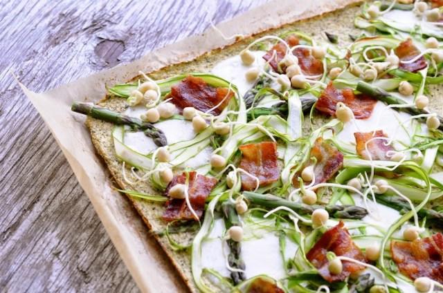 low carb broccolipizza