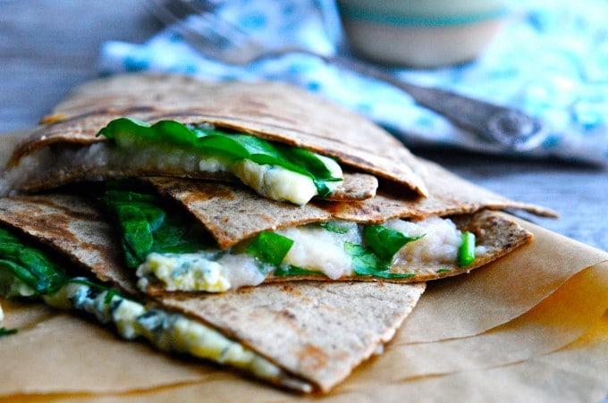Tortilla med ost | www.juliekarla.dk