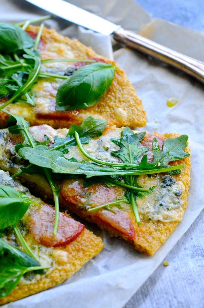 Glutenfri pizza bund | www.juliekarla.dk