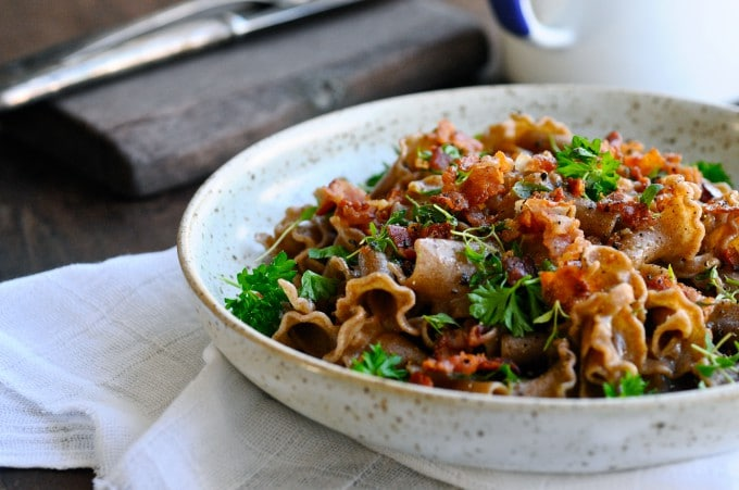 Sauce med blomkål og pasta | www.juliekarla.dk