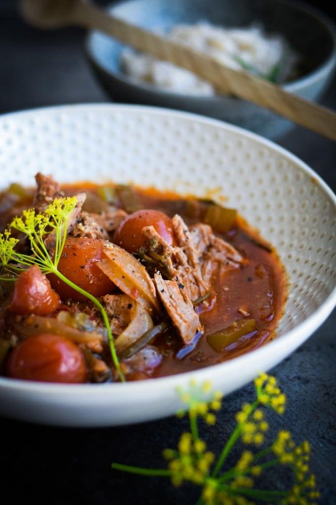 slow cooker opskrifter med lam - en crockpot