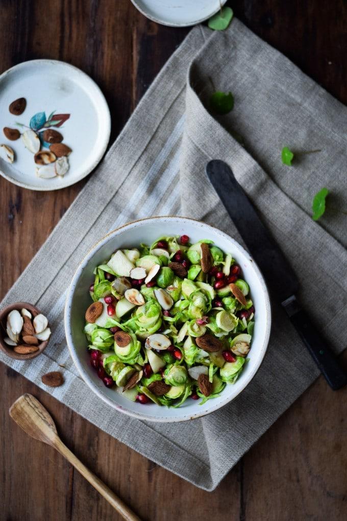 Salat med rosenkaal