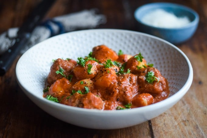 kødboller i tomatsovs