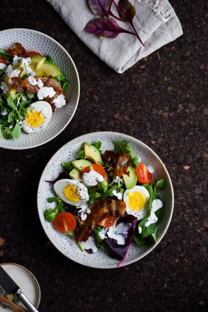 Mættende salat - En 'BLT' salat