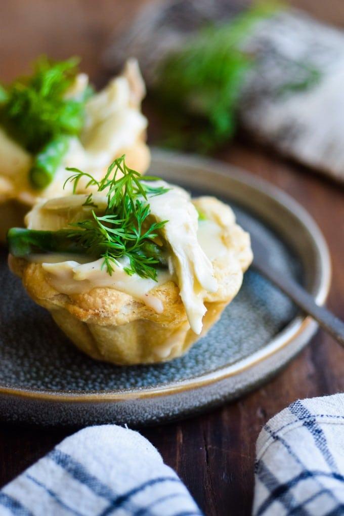 Lækker høns i asparges opskrift