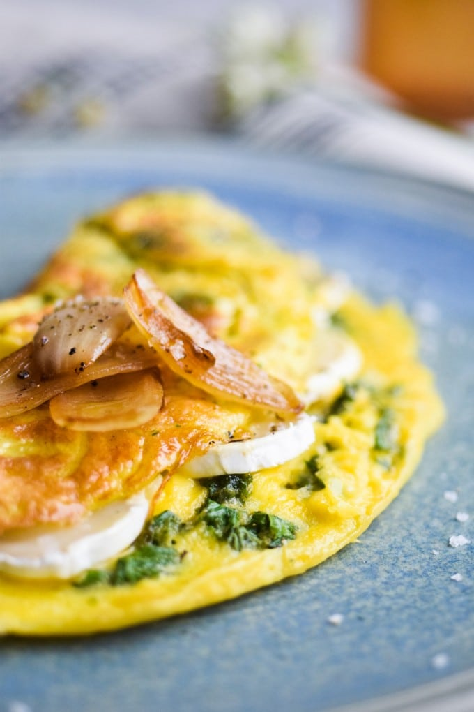 opskrift paa omelet med ost