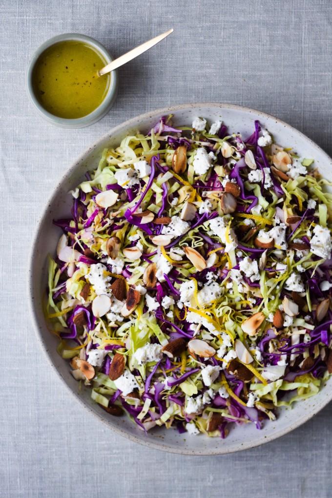 Salat med spidskaal opskrift