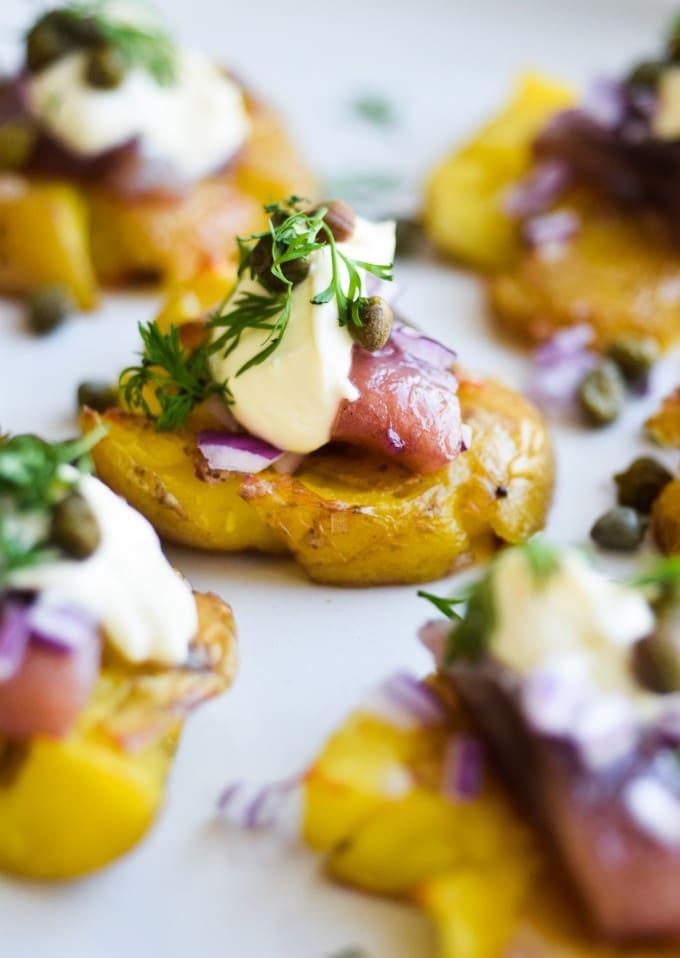 kryddersild med kartofler