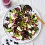blog opskrift på salat med blabær