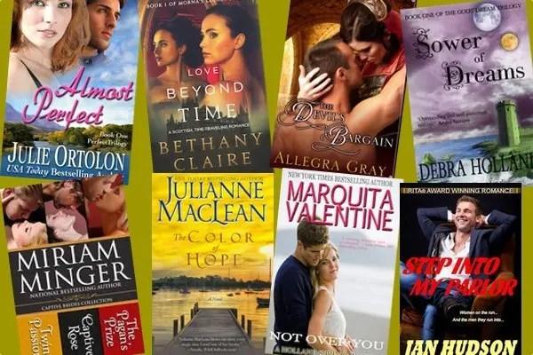 Hump Day books from Julie Ortolon, Bethany Claire, Allegra Gray, Debra Holland, Julianne MacLean, Miriam Minger, Marquita Valentine, and Jan Hudson!