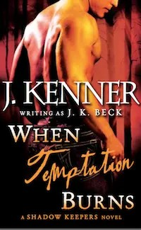 When Temptation Burns - Digital Cover