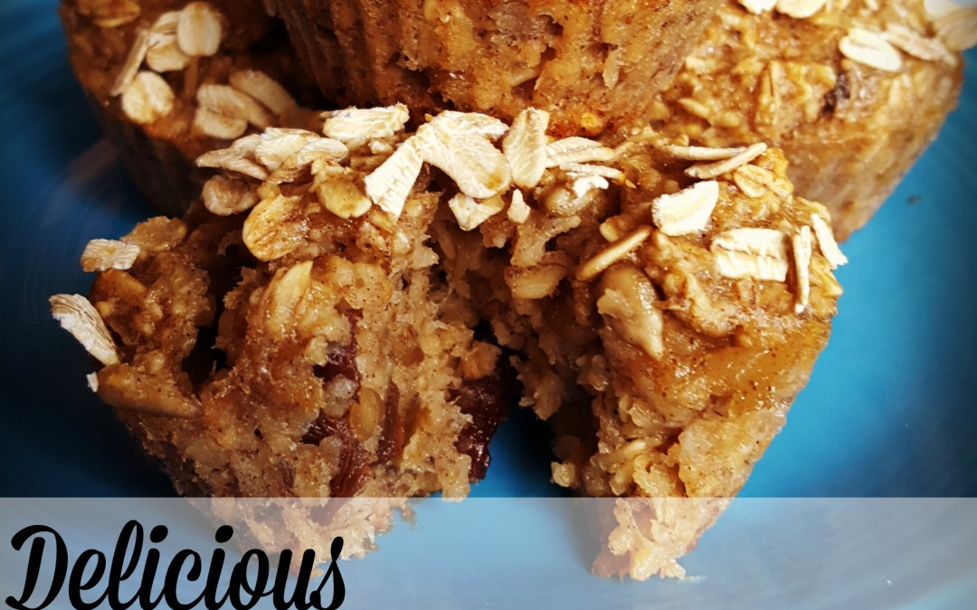 Delicious Flourless, Sugarless Muffins