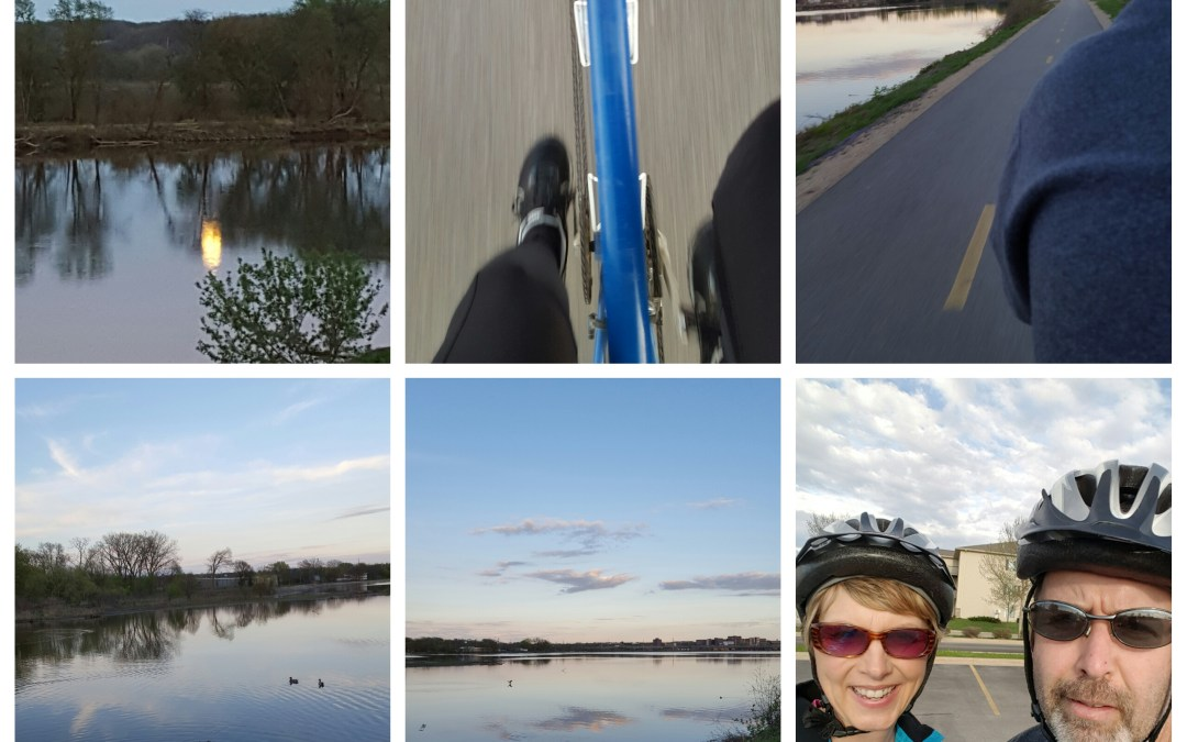 On Biking, Big Blue, and Our Bucket List