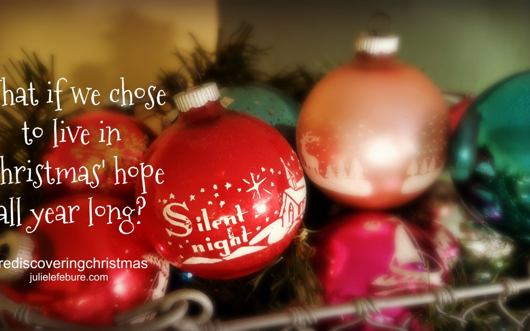 Rediscovering Christmas – Live In Christmas' Hope