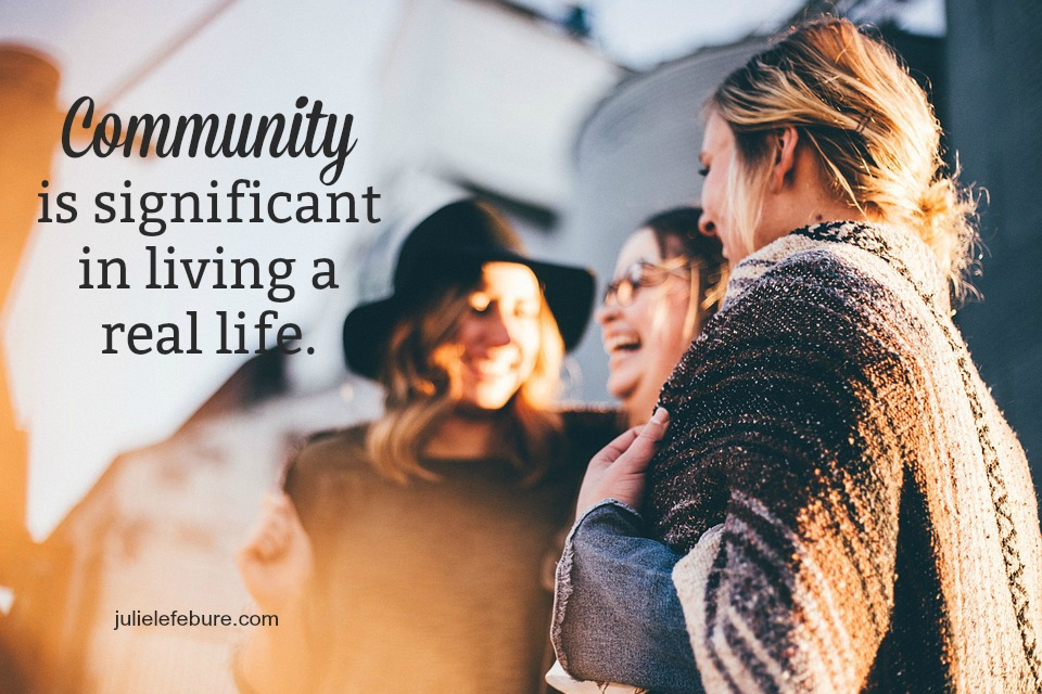 Community Is Significant In Living A Real Life