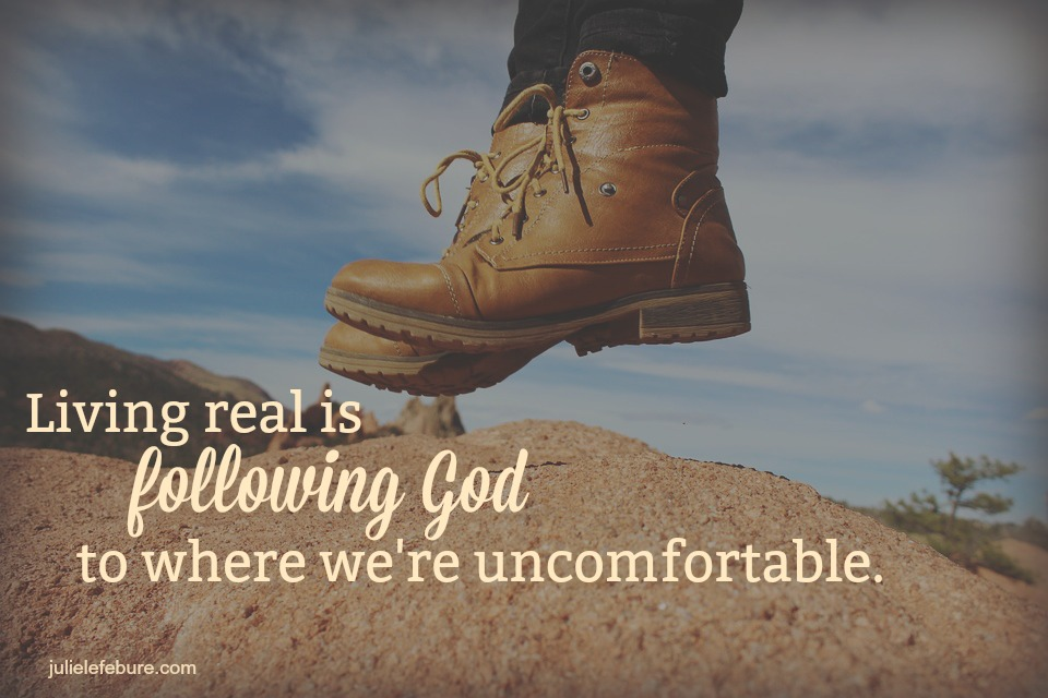 Will We Follow God To Where We're Uncomfortable?