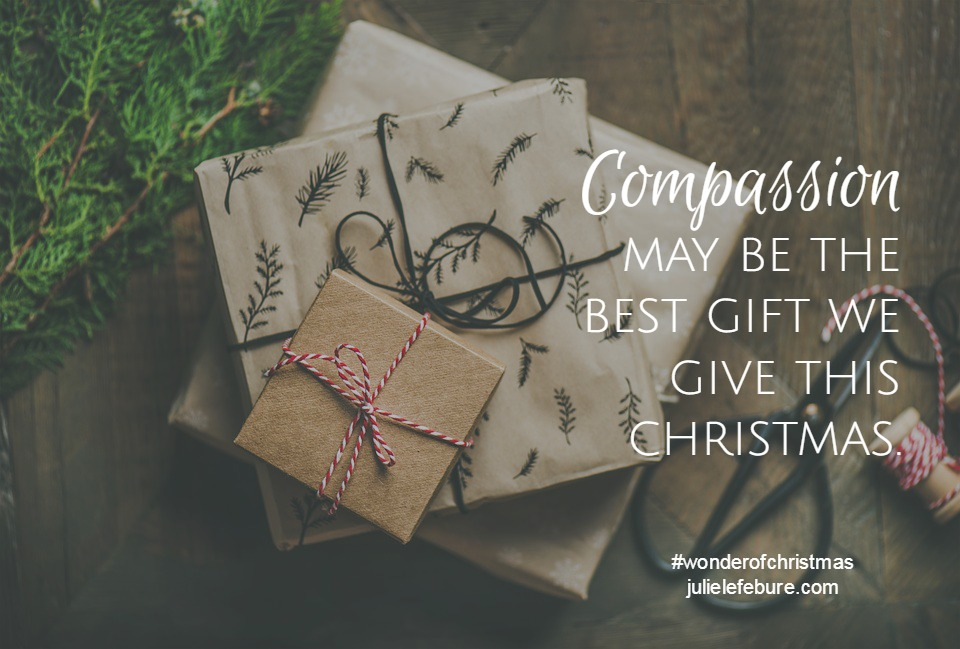 Live A Life Of Compassion – The Wonder of Christmas