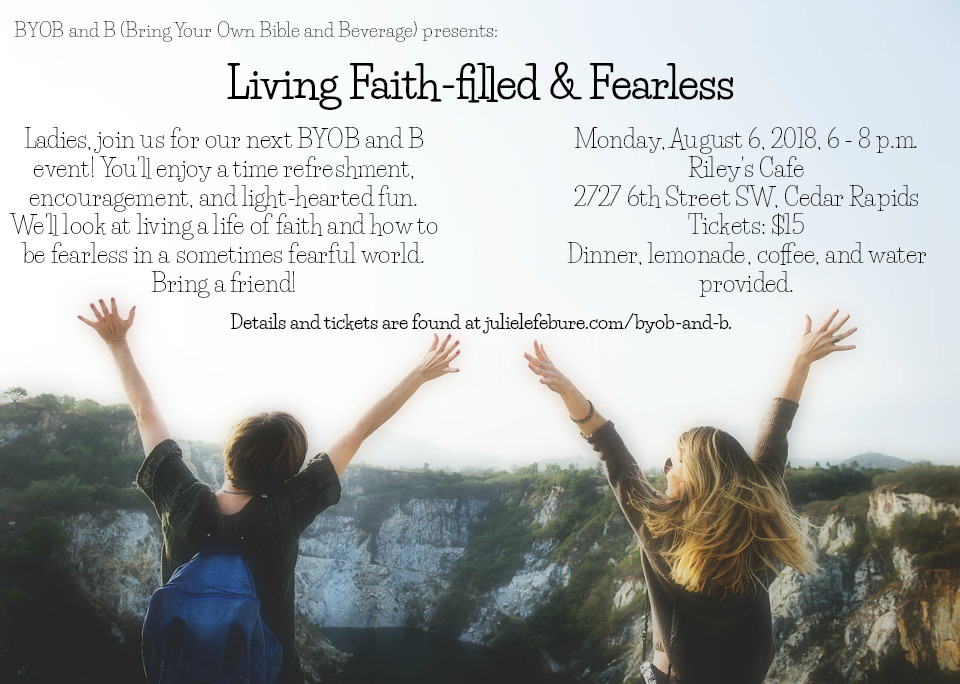 Living Faith-filled and Fearless Event