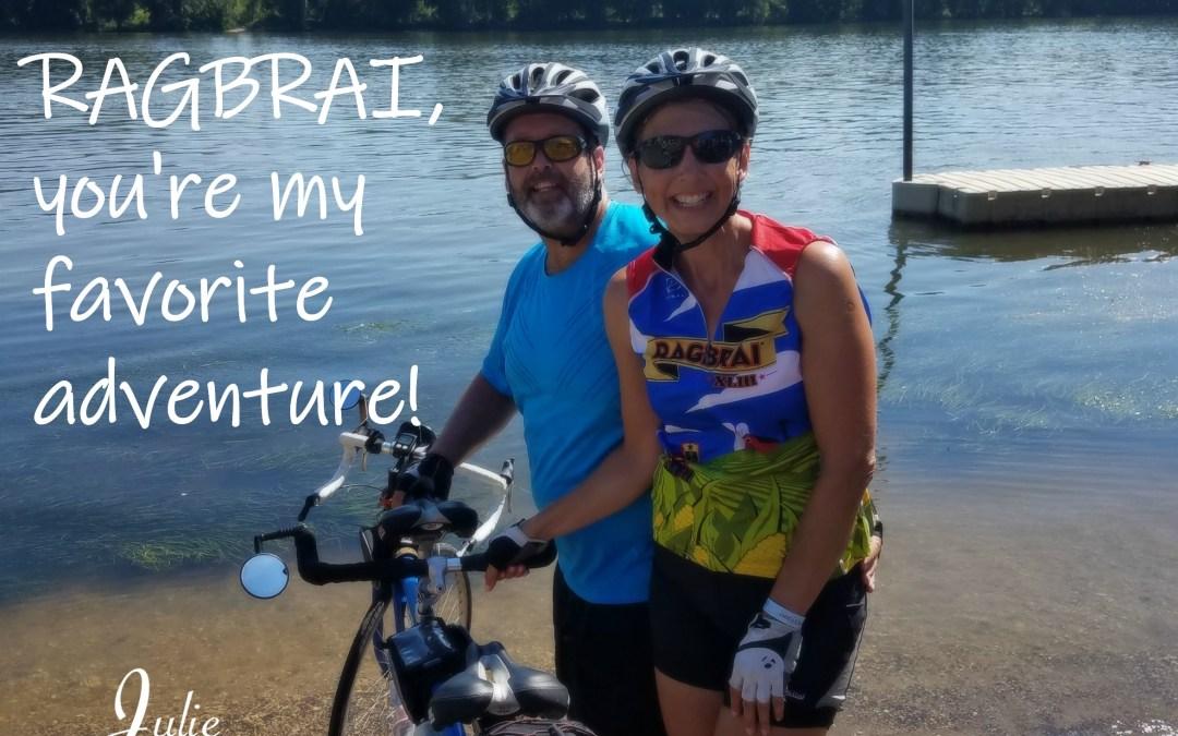 RAGBRAI, You're My Favorite Adventure