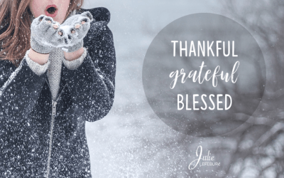 Showing Up Thankful, Grateful, And Blessed
