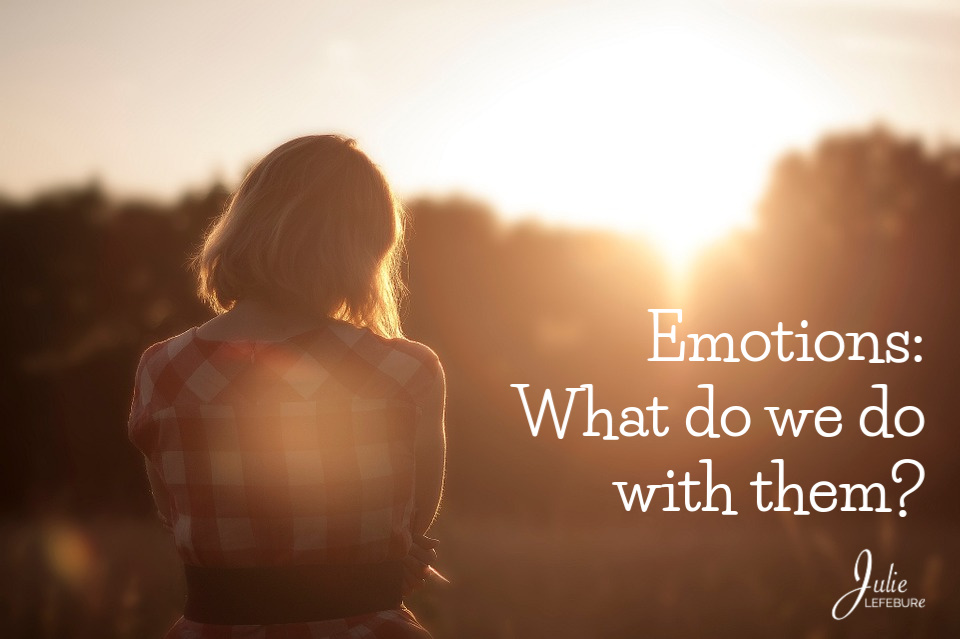 Emotions: What Do We Do With Them?
