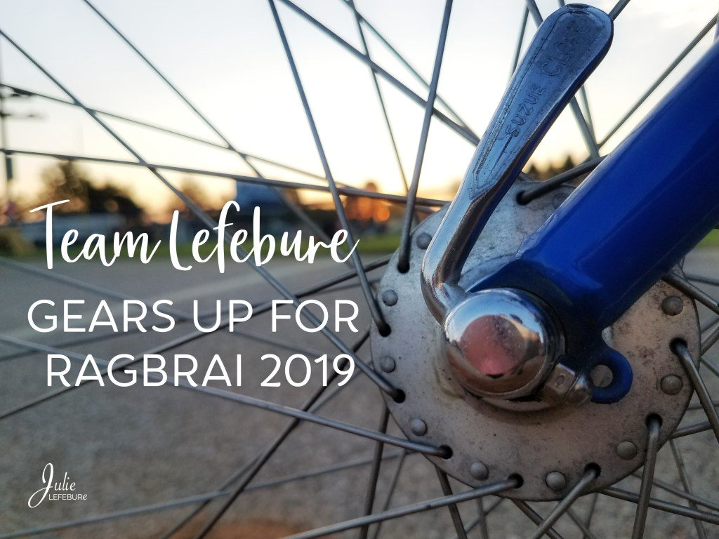 Team Lefebure gears up for RAGBRAI 2019