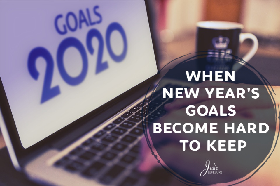 When New Year's Goals Become Hard to Keep