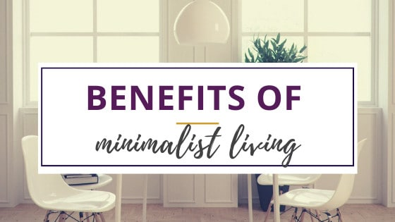 benefits of minimalist living in white kitchen furniture with sparse decor