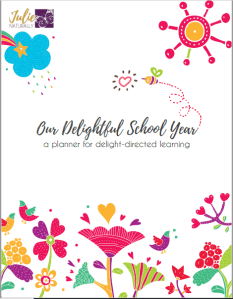 the best homeschool planner for delight-directed learners