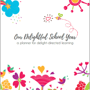 "The Best Homeschool Planner for ""Delight""-ful Families (DIGITAL)"