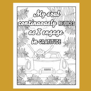 Gratitude Adult Coloring Book (DIGITAL)