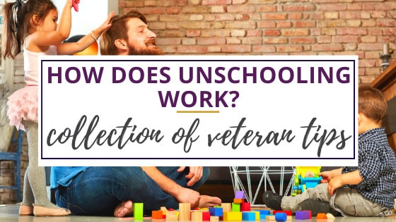 a family playing with toys learning how unschooling works